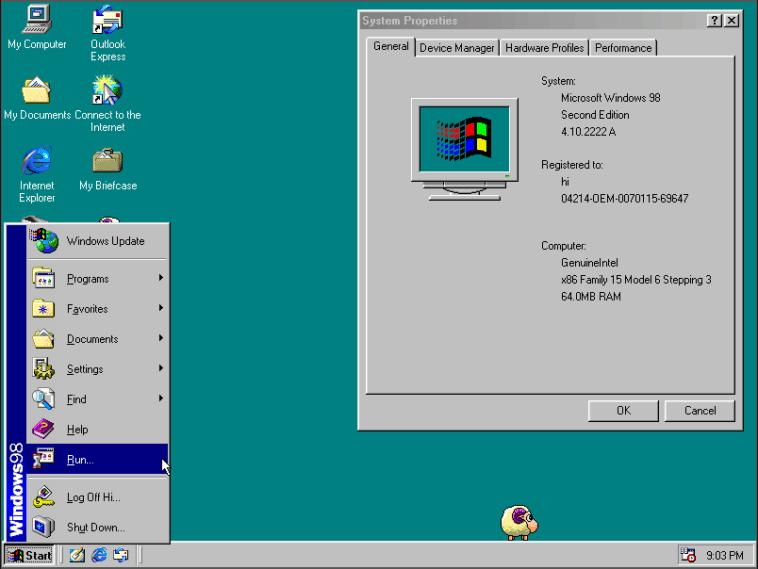 Windows 98 bol skvelý a veľmi pekný. Najmä však podstatne stabilnejší