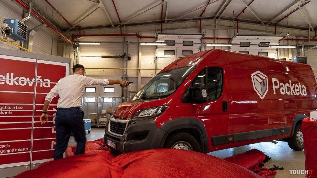 Vlastné kuriérske auto v systéme Packeta. Zdroj: Ondrej Macko/TOUCHIT.sk