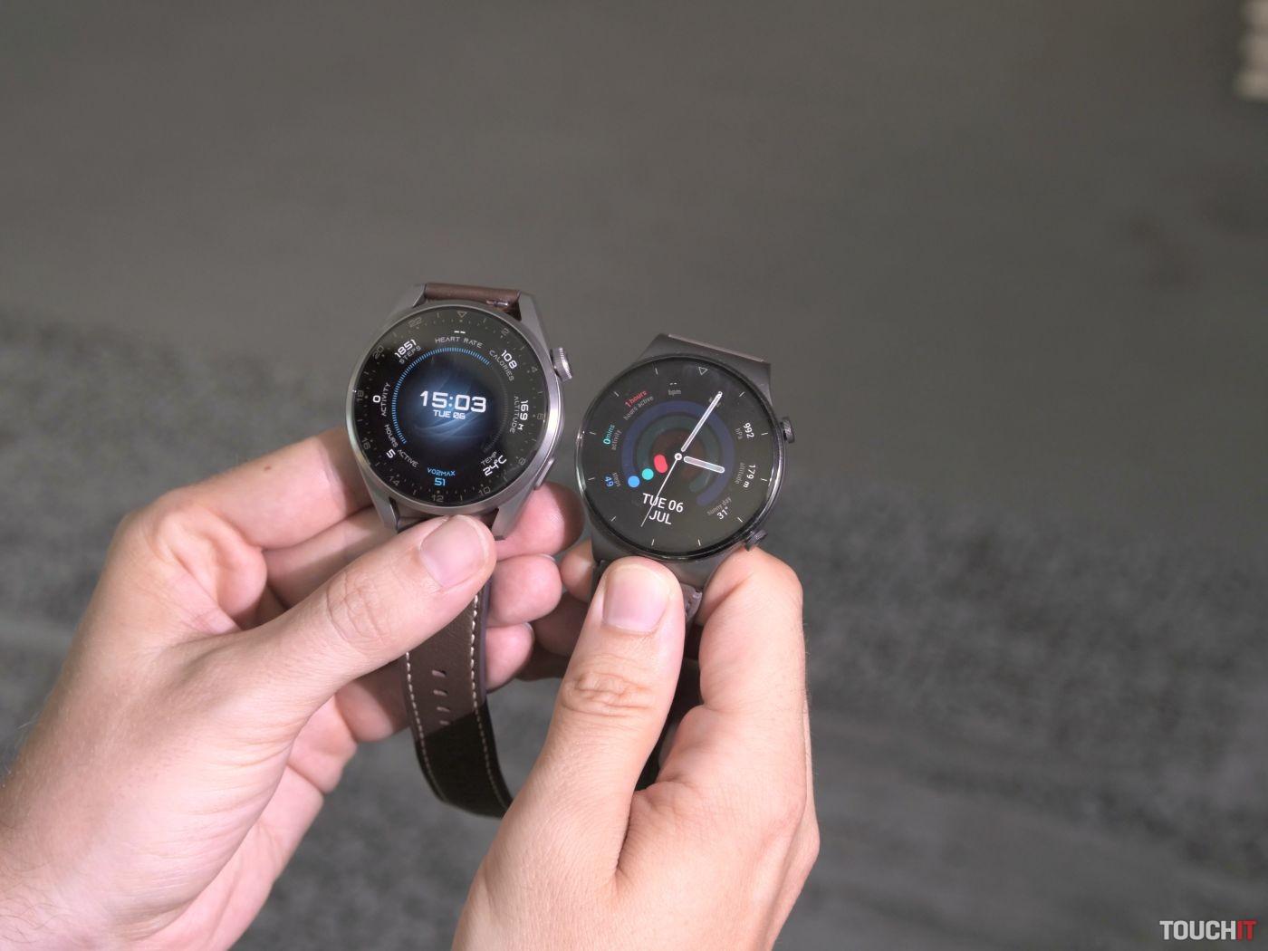 Huawei Watch 3 Pro a Huawei Watch GT 2 Pro