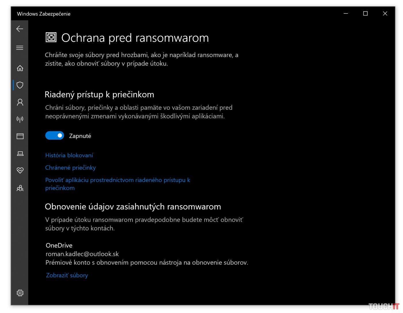 Windows 10 ransomvér