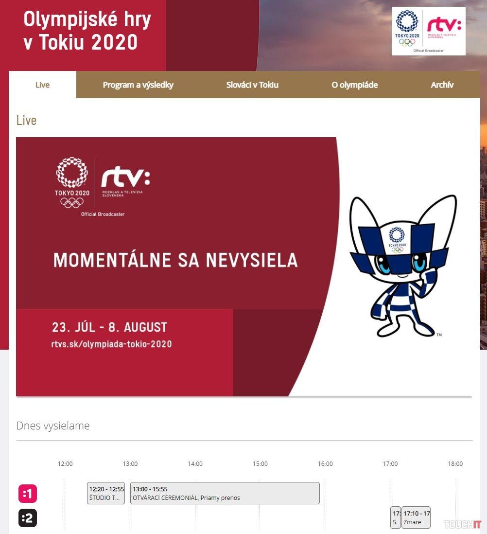 Olympiáda Tokio 2020