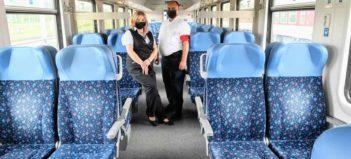 Milan Jano z Michalian, vlakový asistent v oblastnej správe depa Košice, je vďačný za prácu na železnici
