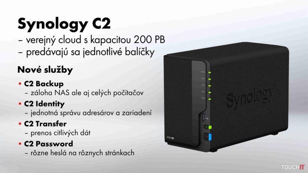 Vlastný Synology cloud C2.