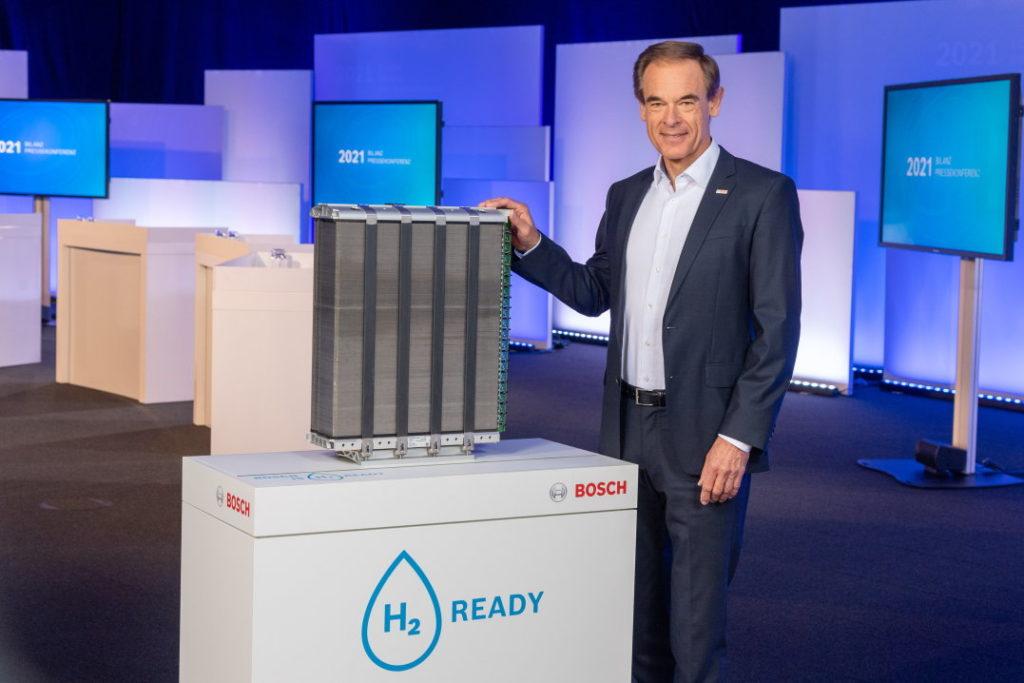 Dr. Volkmar Denner, CEO Bosch s palivovým článkom
