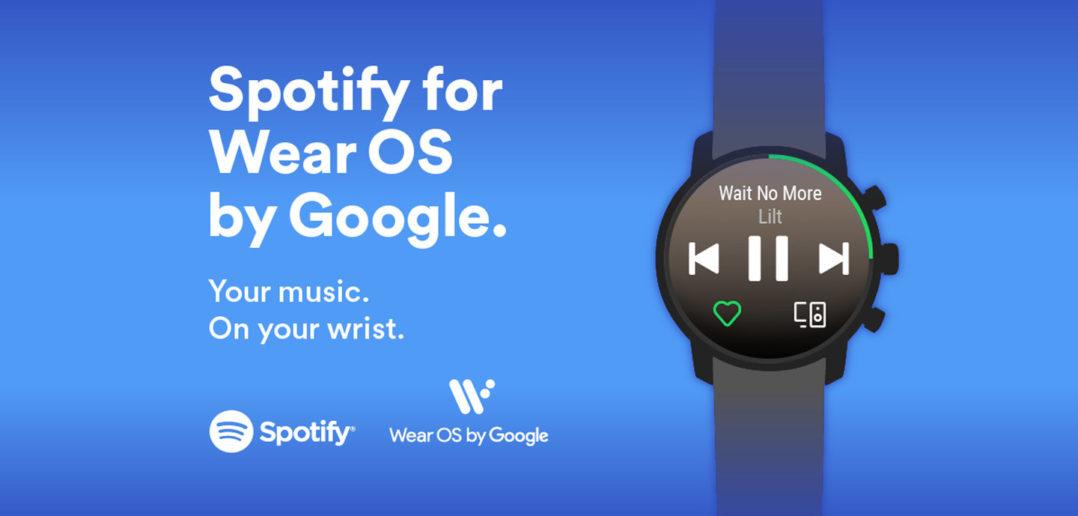 Spotify offline prehrávanie pre Wear OS