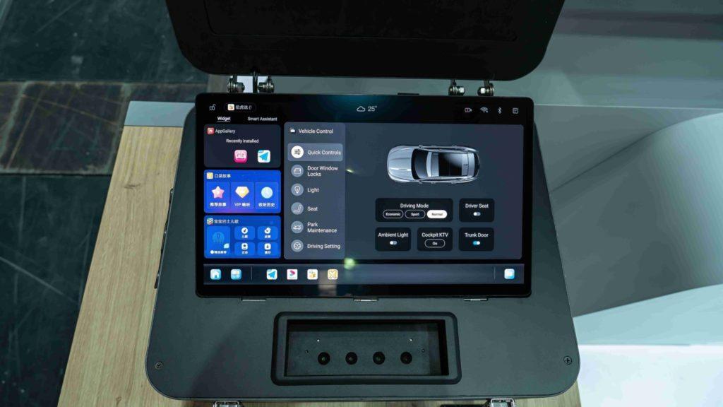 Ovládanie vozidla zo systému Huawei