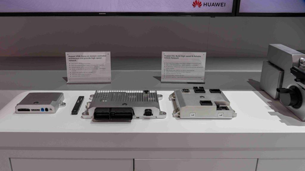 Prvky autonómnej výbavy Huawei