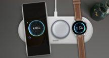 Huawei trio bezdrôtová nabíjačka