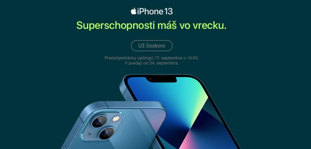 iPhone 13 na Slovensku