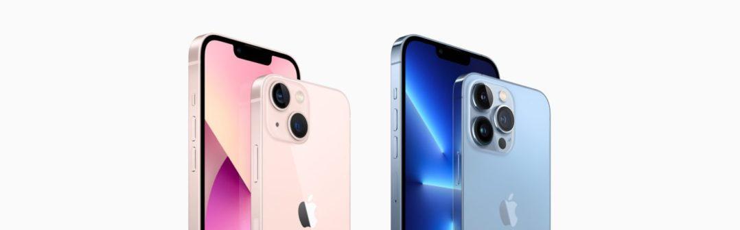iPhone 13 (Pro) oficiálne: 4 smartfóny s drobnými medzigeneračnými zlepšeniami