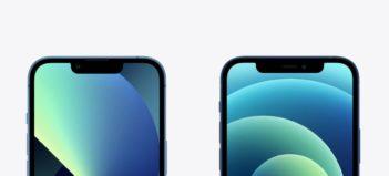 iPhone 13 výrez