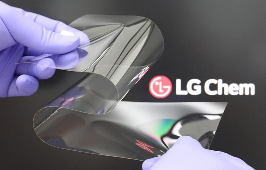 LG Chem sklo