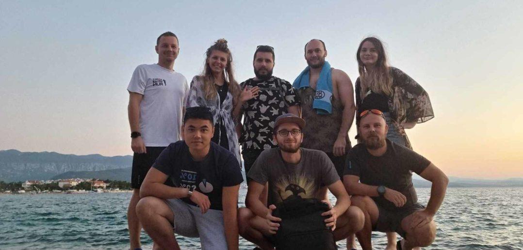 Plážový office po slovensky