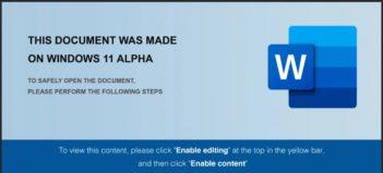 Windows 11 Alpha