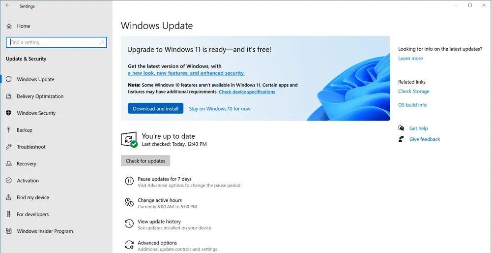 Aktualizácia na Windows 11