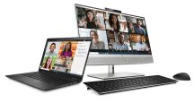 HP Elite Dragonfly Max and HP EliteOne 800 G8 All-in-One