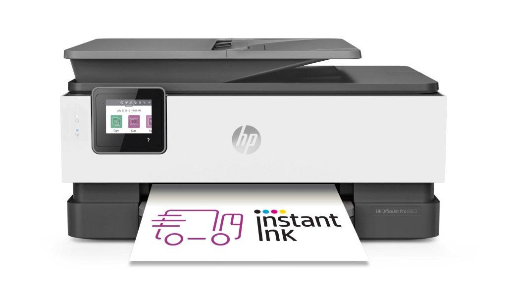 HP OfficeJet Pro 8023 ako jedno z kompatibilných zariadení