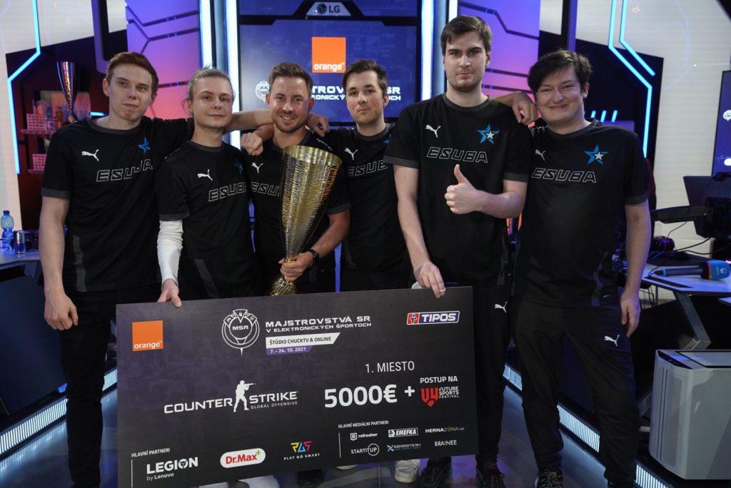 eSuba víťaz CSGO